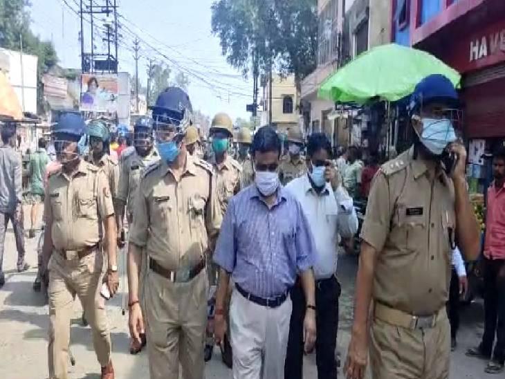 सड़कों पर SDM ने किया दौरा, पूरे जिले को 6 जोन और 26 सेक्टर में बांटा|कासगंज,Kasganj - Dainik Bhaskar