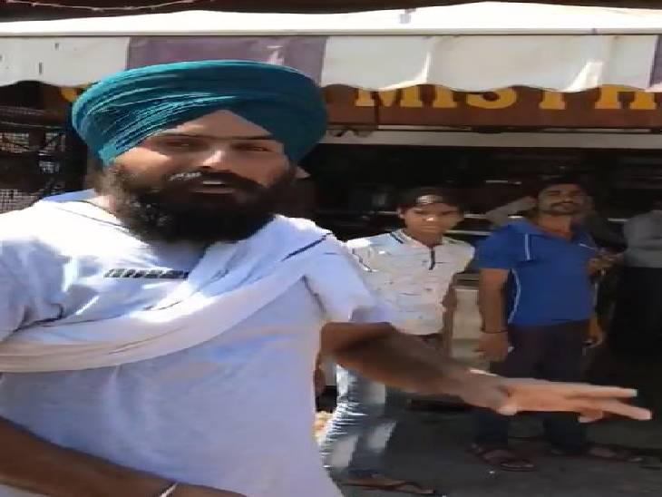 भारत बंद में व्यापारी न नहीं की थी दुकान बंद, प्रदर्शनकारियों ने लोगों से खरीरदारी न करने का किया अनुरोध|पीलीभीत,Pilibheet - Dainik Bhaskar
