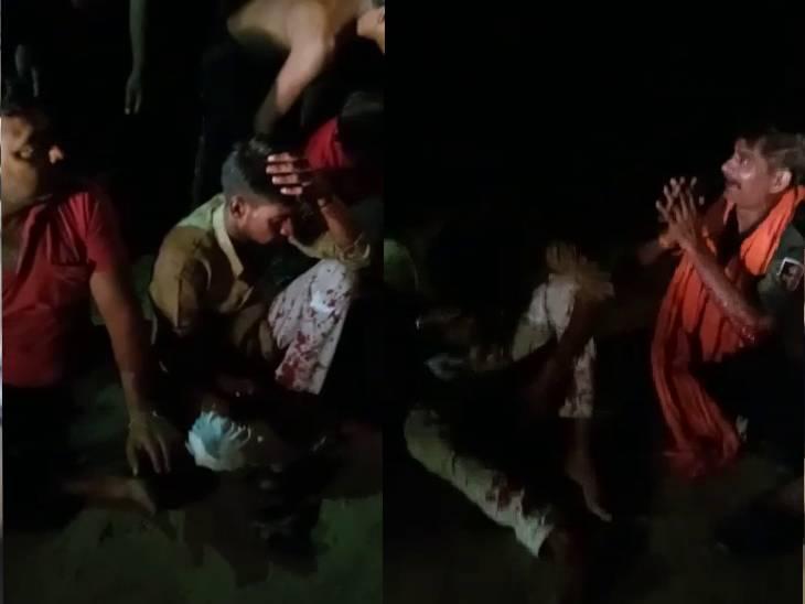 4 लोग गांव में लगे टावर को चेक करने गए थे, ग्रामीणों ने बकरी चोर समझकर पीटा; पुलिस ने बचाया, 20 पर मुकदमा|फतेहपुर,Fatehpur - Dainik Bhaskar