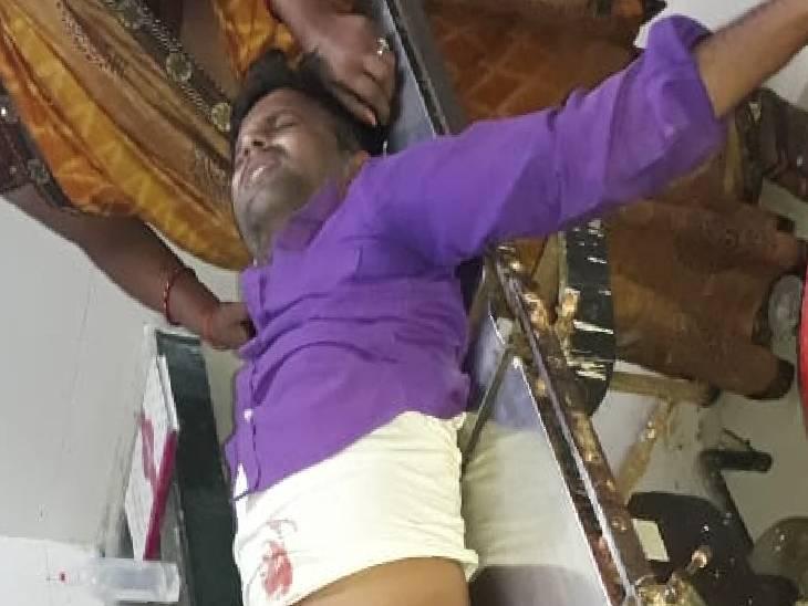 रंजिश में दो दबंगों ने किया हमला, पंचायत चुनाव में जीत मिलने से नाराज थे गांव के कुछ लोग|सोनभद्र,Sonbhadra - Dainik Bhaskar