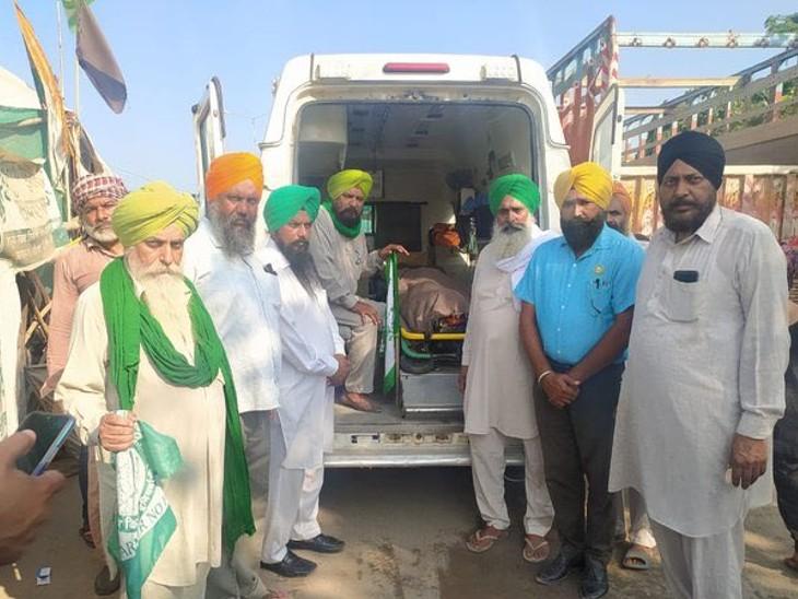 इससे पहले 19 सितंबर को प्रदर्शन के दौरान जय सिंह नाम के किसान की मौत हुई थी।