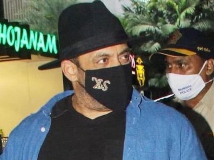'टाइगर 3' की शूटिंग कर ऑस्ट्रिया से मुंबई वापस लौटे सलमान खान, 'उल्टा मास्क' पहनने पर जमकर हुए ट्रोल|बॉलीवुड,Bollywood - Dainik Bhaskar