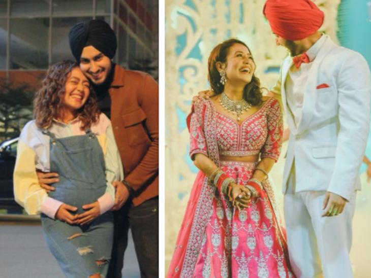 नेहा कक्कड़ ने साझा की सॉन्ग में अपने बेबी बंप पर सासु मां का रिएक्शन, बोलीं- गुड न्यूज काफ़ी जल्दी नहीं हो गई?|बॉलीवुड,Bollywood - Dainik Bhaskar