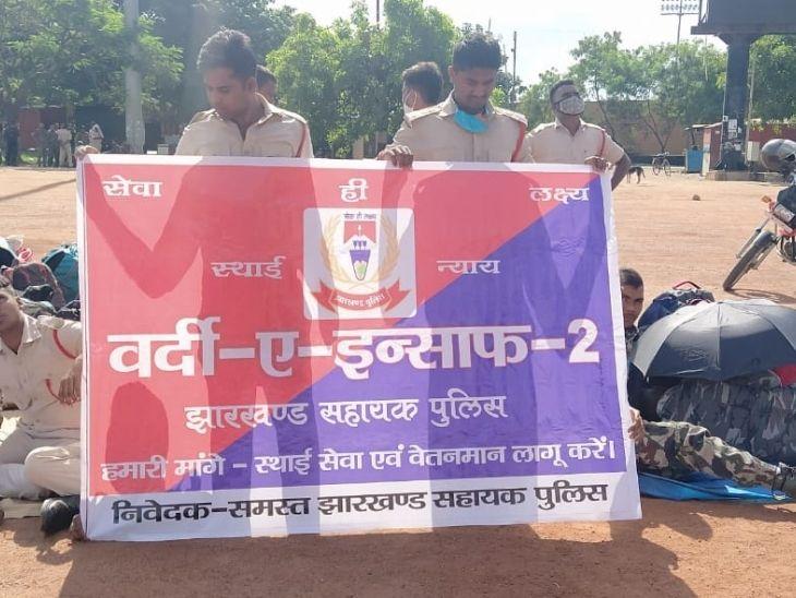 SSP के आदेश के बाद भी शहर में एंट्री से नहीं रोक पाई पुलिस, मोरहाबादी इलाके में 1000 अतिरिक्त पुलिस बल तैनात|रांची,Ranchi - Dainik Bhaskar