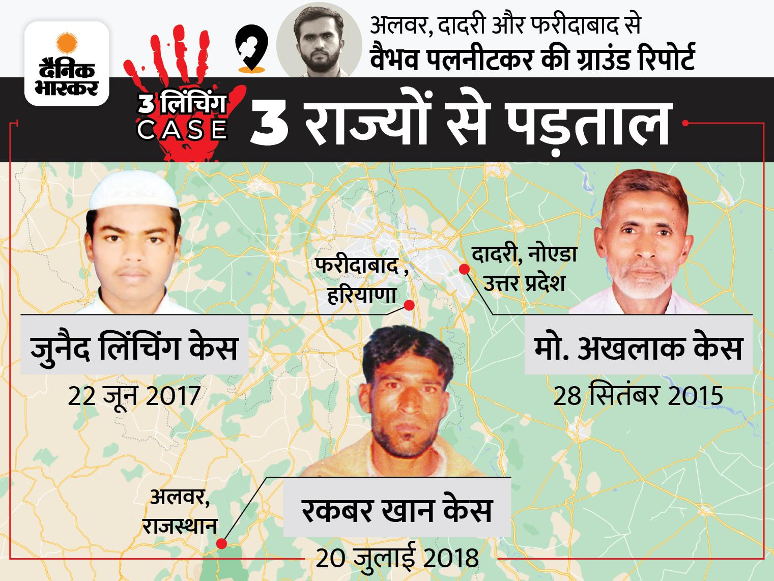 6 साल बाद भी अखलाक केस सेशन कोर्ट में अटका, रकबर के मामले में 100 से ज्यादा सुनवाई; 3 केस में 28 में से 25 आरोपी जमानत पर बाहर|DB ओरिजिनल,DB Original - Dainik Bhaskar