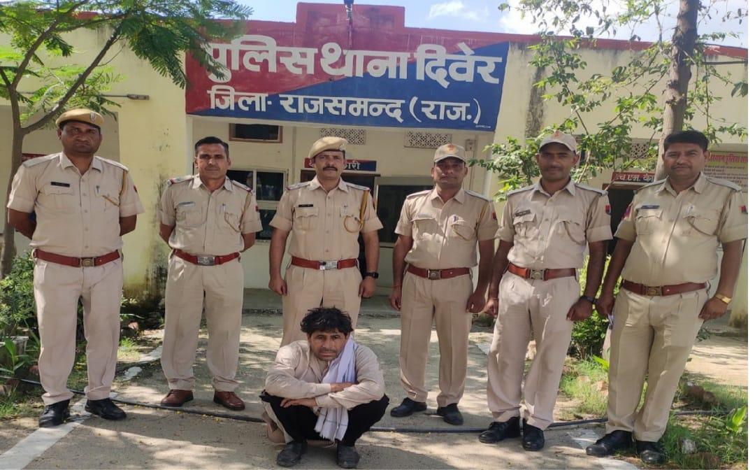 पुलिस यूपी गई तो पता चला घर नहीं आता,महाराष्ट्र-उत्तरप्रदेश हाइवे पर ट्रक चलातापकड़ा गया,भेजा जेल राजसमंद,Rajsamand - Dainik Bhaskar