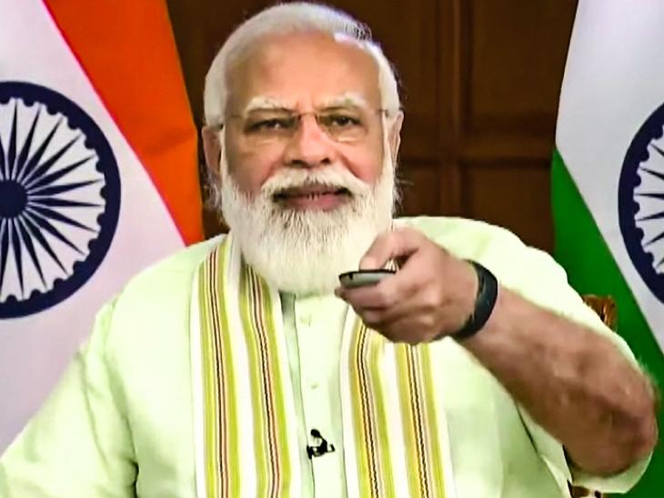 प्रधानमंत्री मोदी ने 35 फसलों की खास किस्में लॉन्च कीं, इन पर जलवायु परिवर्तन और कुपोषण का असर कम होगा|देश,National - Dainik Bhaskar