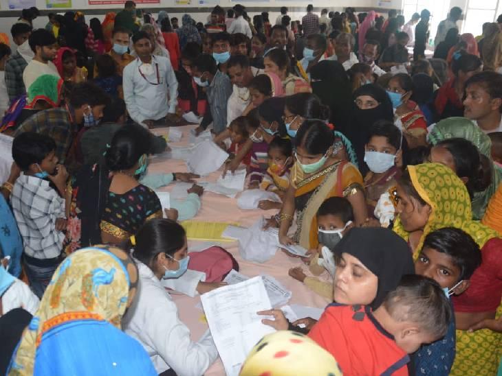 232 की जांच में 65 को वायरल बुखार; ओपीडी में रोज आ रहे 150 से 200 मरीज, जिला अस्पताल में 234 भर्ती|फिरोजाबाद,Firozabad - Dainik Bhaskar