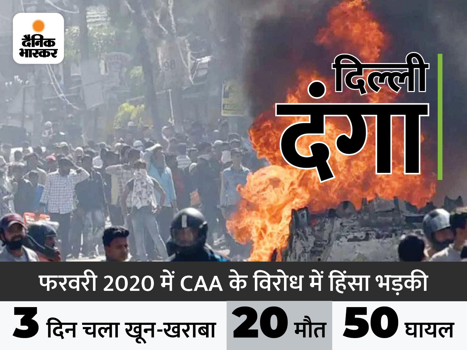 दिल्ली हाईकोर्ट ने कहा- राजधानी में किसी घटना के बाद हिंसा अचानक नहीं भड़की, सब कुछ प्री-प्लान्ड था|देश,National - Dainik Bhaskar