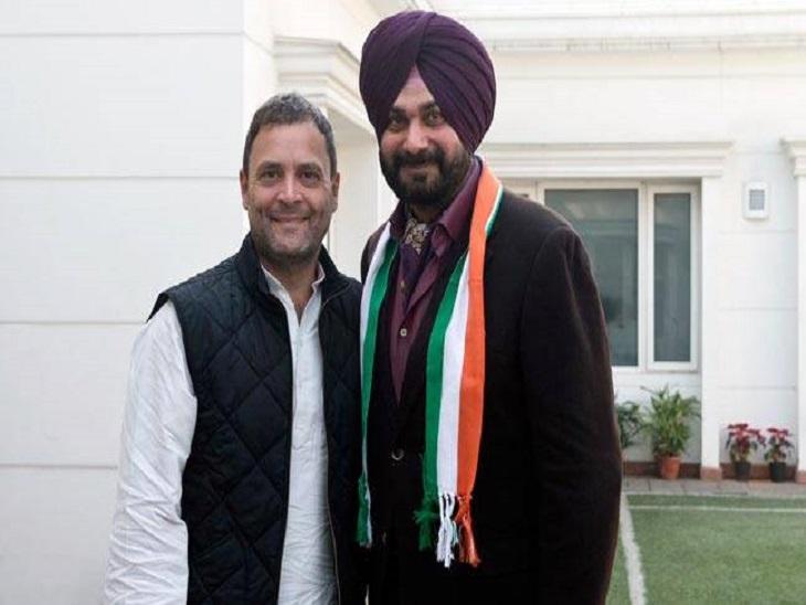 15 जनवरी 2017 जब नवजोत सिंह सिद्धू ने कांग्रेस जॉइन की थी।