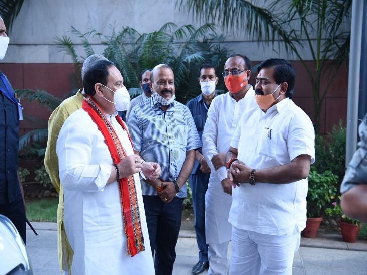 संगम लाल गुप्ता ने भाजपा अध्यक्ष को सुनाई आपबीती; बोले- मेरे साथ मारपीट करने वाले सभी लोग जल्द गिरफ्तार होंगे|लखनऊ,Lucknow - Dainik Bhaskar