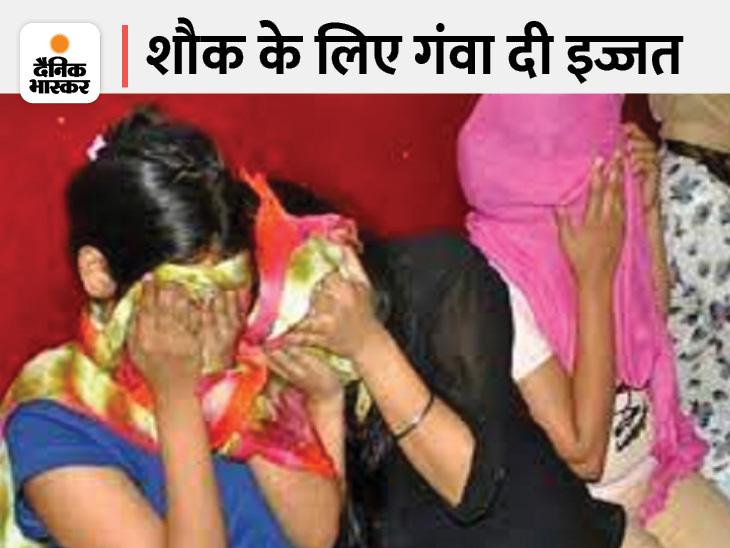 आलमबाग में पुलिस ने 6 कॉलगर्ल को गिरफ्तार किया, पैसा कमाने की चाह में टेलीकॉलर से गंदे धंधे में उतरीं; दो एजेंट भी धरे गए|लखनऊ,Lucknow - Dainik Bhaskar