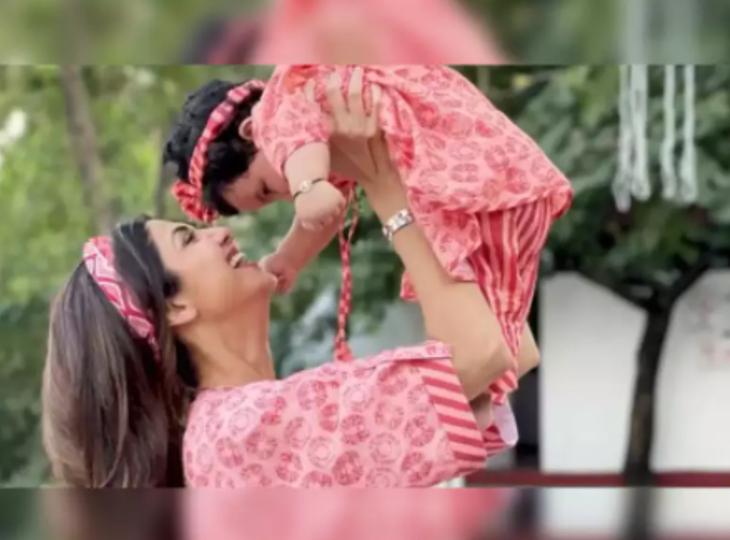 बेटी समीषा के साथ शिल्पा शेट्टी ने शेयर किया क्यूट वीडियो, राज कुंद्रा को जमानत मिलने के बाद सोशल मीडिया पर लगातार एक्टिव हैं एक्ट्रेस|बॉलीवुड,Bollywood - Dainik Bhaskar
