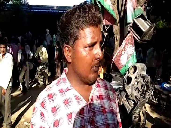 मौत के बाद अपनी दुकान बंद करके डॉक्टर हुआ फरार, पहले भी गलत इलाज से हो चुकी है मौत|मैनपुरी,Mainpuri - Dainik Bhaskar