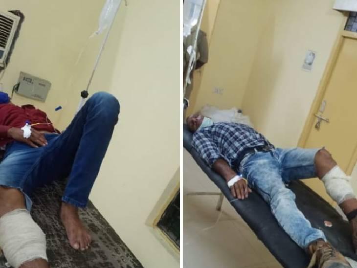 घटना को अंजाम देने जा रहे थे, पुलिस के पीछे करने पर फायरिंग की; 2 बदमाश और 1 पुलिसकर्मी घायल|महराजगंज,Maharajganj - Dainik Bhaskar