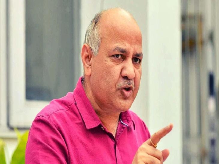 प्रयागराज में बोले दिल्ली के डिप्टी सीएम मनीष सिसोदिया, कहा- हम काम के बूते जिलों में मांगेंगे वोट|प्रयागराज (इलाहाबाद),Prayagraj (Allahabad) - Dainik Bhaskar
