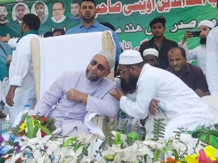 बहराइच में मुस्लिम लीडर बोले- दोबारा मिलने पर तय होगी गठबंधन की बात, मनीष हत्याकांड को योगी की ठोंको नीति का नतीजा बताया|बहराइच,Bahraich - Dainik Bhaskar