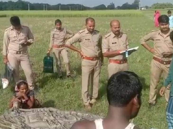 24 घण्टे पहले घर के बाहर से लापता हो गई थी, पिता की मौत से थी बदहवास, जांच में जुटी पुलिस|कौशांबी,Kaushambi - Dainik Bhaskar