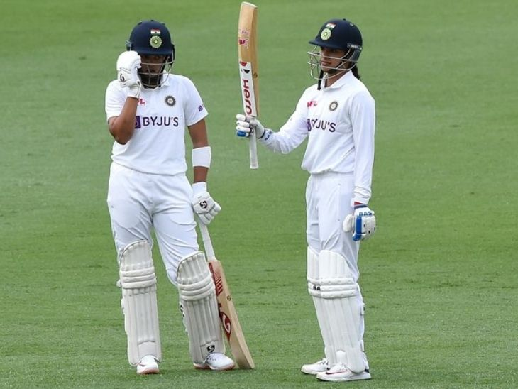 ऑस्ट्रेलिया के खिलाफ पिंक बॉल टेस्ट के पहले दिन भारत ने बनाए 132/1, मंधाना 80 रन पर नाबाद|क्रिकेट,Cricket - Dainik Bhaskar