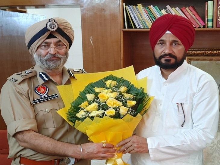 DGP इकबालप्रीत सहोता ने पद संभालने के बाद CM चन्नी से मुलाकात की थी।