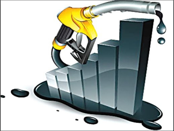 अब जब क्रूड महंगा होने लगा तो तीन दिन में ही पेट्रोल 45 पैसे प्रति लीटर महंगा हो चुका है। - Dainik Bhaskar
