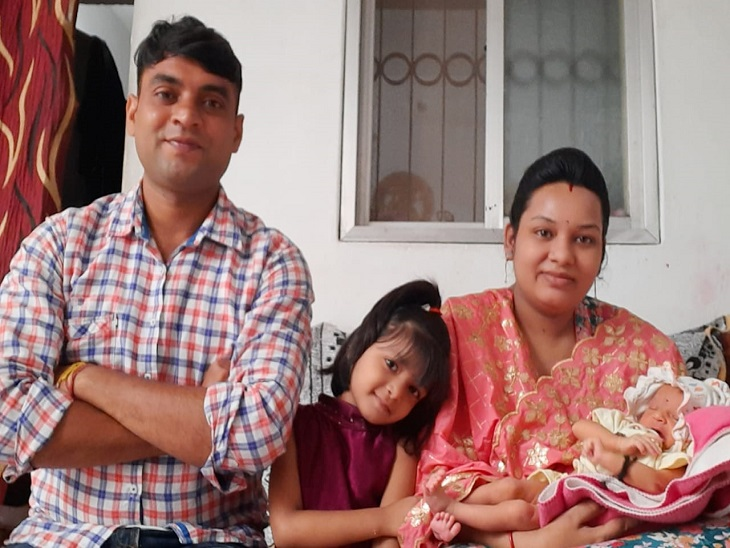 परिवार एनके वर्मा का।