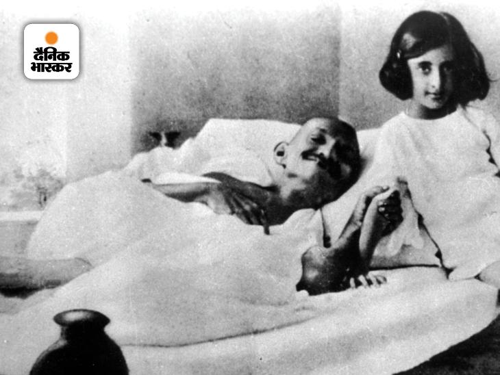 महात्मा गांधी के साथ इंदिरा गांधी। 1959-60 में इंदिरा गांधी कांग्रेस अध्यक्ष बनीं। 18 मार्च 1971 को तत्कालीन राष्ट्रपति वीवी गिरी ने इंदिरा गांधी को प्रधानमंत्री पद की शपथ दिलाई थी। तीन नवंबर 1984 को इंदिरा गांधी का अंतिम संस्कार किया गया था।