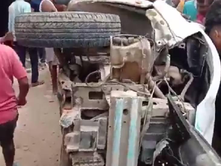 अनियंत्रित होकर दुकान से टकराई कार, ड्राइवर की जमकर हुई पिटाई; सभी घायल अस्पताल में भर्ती जौनपुर,Jaunpur - Dainik Bhaskar