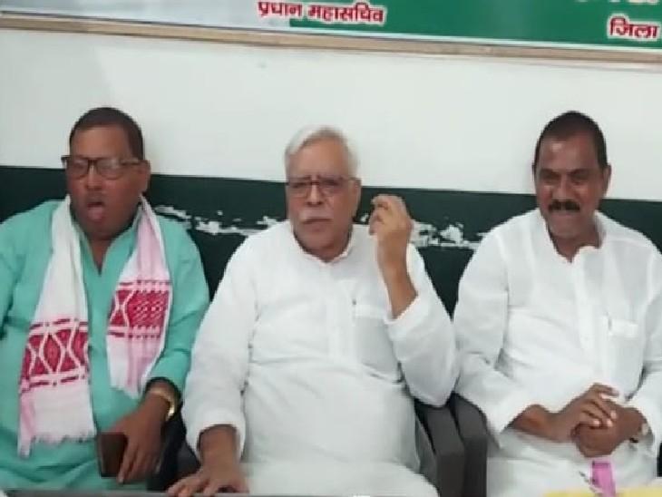 पूर्व मंत्री शिवानंद तिवारी बोले- भाषण देने की कला में माहिर हैं कन्हैया कुमार, राहुल गांधी के साथ मेरी सहानुभूति बिहार,Bihar - Dainik Bhaskar