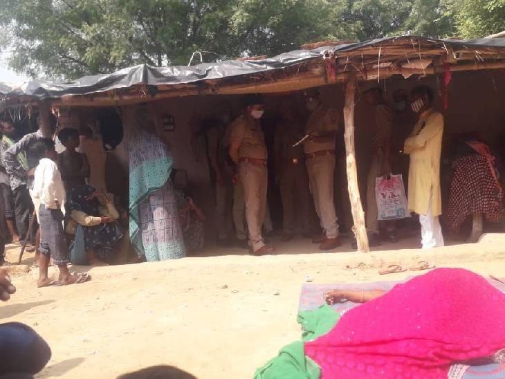 रात में पत्नी ने लगाई फांसी, सुबह पति ने देखा तो फंदे से लटक रहा था शव चित्रकूट,Chitrakoot - Dainik Bhaskar