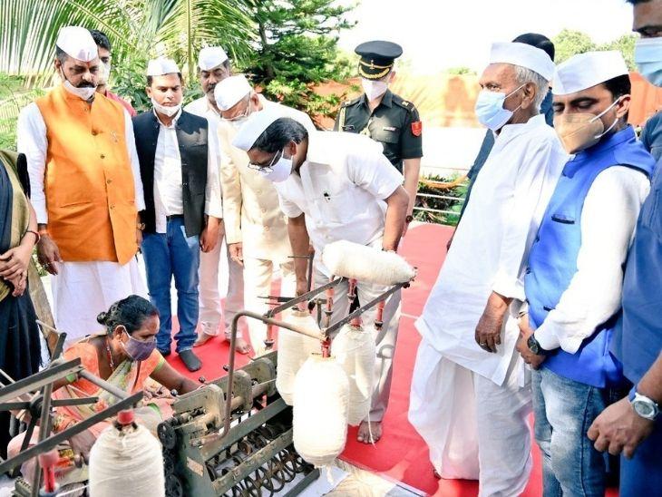 रांची में महात्मा गांधी से जुड़े सर्वोदय आश्रम को पर्यटन और शोध केंद्र के रूप में विकसित किया जाएगा, कुटीर उद्योग के क्रिया कलाप का हब बनेगा|रांची,Ranchi - Dainik Bhaskar