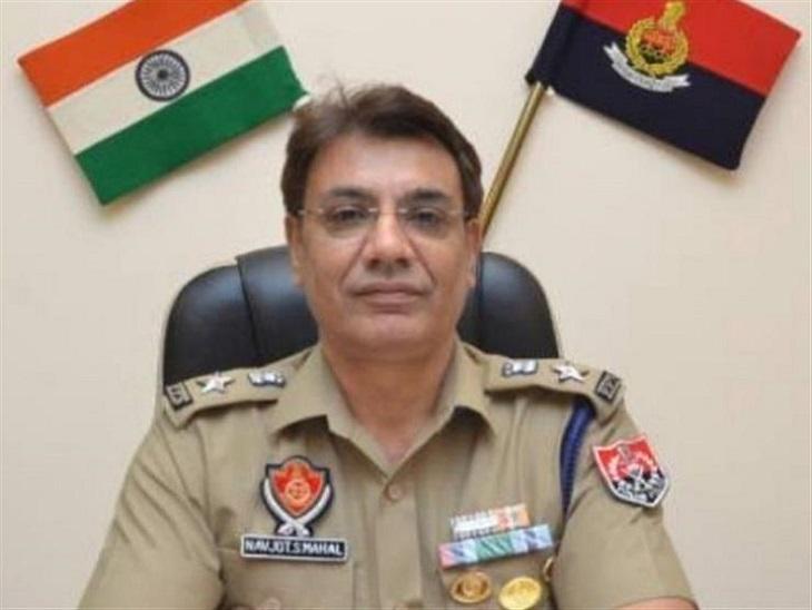 मोहाली के नए SSP नवजोत सिंह माहल। - Dainik Bhaskar