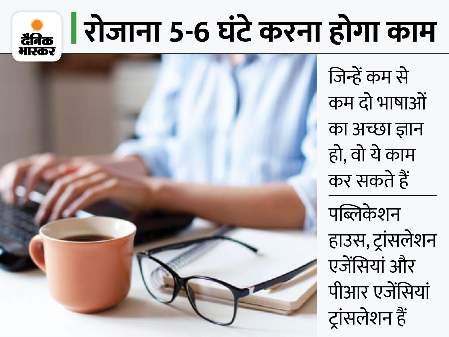 दो भाषाओं की समझ है तो ट्रांसलेटर बनकर कमा सकते हैं 50 हजार रुपए महीना, बिना कुछ निवेश के होगी काम की शुरुआत|बिजनेस,Business - Dainik Bhaskar