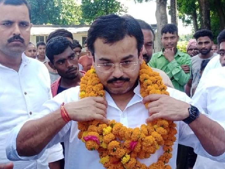 मंत्री अजय मिश्र का बेटा आशीष मिश्र उर्फ मोनू।