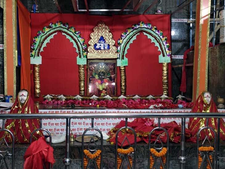 159 साल पुराना है यह मंदिर, कभी पिंडी रूप में होती थी देवी की पूजा; नवरात्रि में उमड़तीहै लाखों श्रद्धालुओं की भीड़|बिहार,Bihar - Dainik Bhaskar