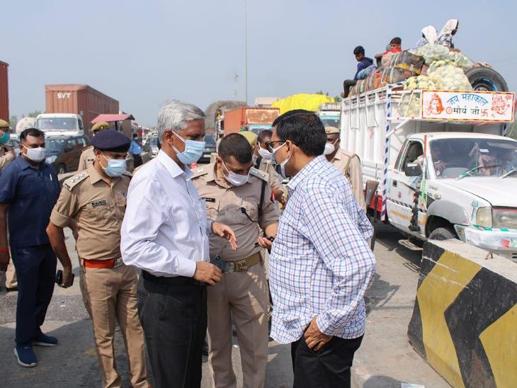 मुरादाबाद में कड़ी की गई रेलवे स्टेशन की सुरक्षा व्यवस्था, हाईवे पर उतरे कमिश्नर- DM|मुरादाबाद,Moradabad - Dainik Bhaskar
