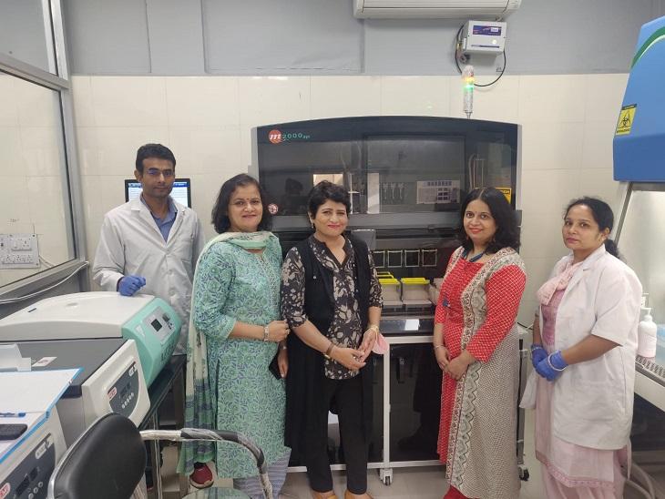 रोहतक पीजीआई को मिली माइक्रोबायोलॉजी मशीन, मरीजों में बीमारी के फैलाव की जांच के बाद दी जाएगी दवाईयां रोहतक,Rohtak - Dainik Bhaskar