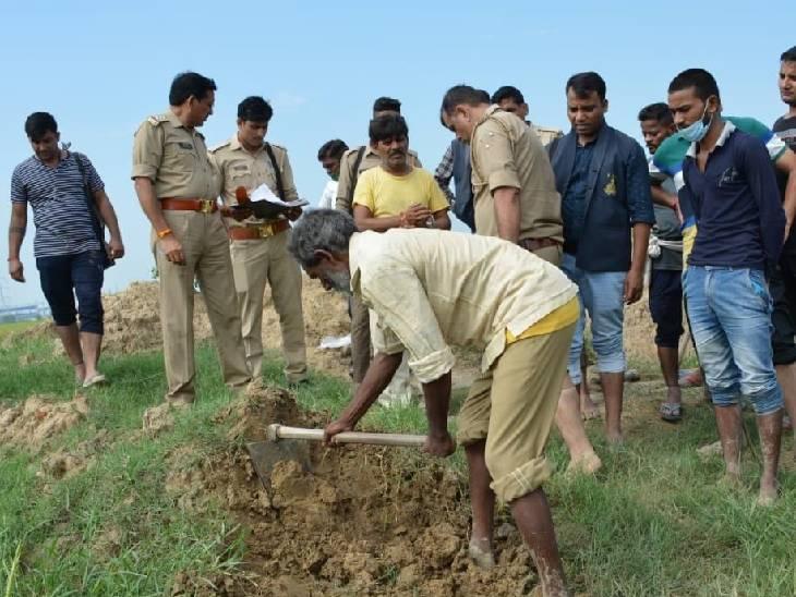 16 जुलाई को गायब हो गई थी, खोदाई के बाद निकाला कंकाल, 2 गिरफ्तार|बदायूं,Badaun - Dainik Bhaskar