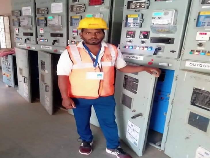 परिजनों ने साथ काम करने वाले कर्मी पर लगाया आरोप, कहा- बिना बताए शुरू कर दी गई लाइन|मैनपुरी,Mainpuri - Dainik Bhaskar