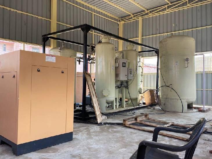 आक्सीजन बनाने वाले प्लांट भी लगाए गए, कोरोना की तीसरी लहर से बचाव के लिए उठाए गए कदम|हापुड़,Hapud - Dainik Bhaskar