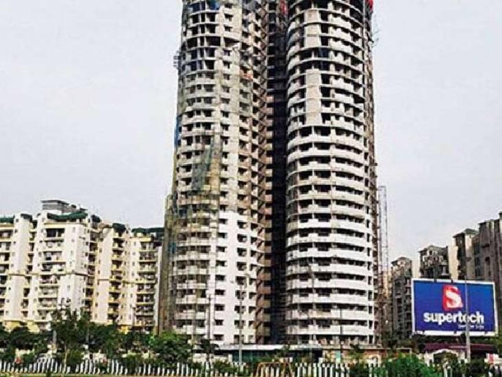 लखनऊ विजिलेंस में दर्ज कराया गया मामला, 3 अधिकारियों को सस्पेंड करने का आदेश भी जारी; सुपरटेक के 2 टावरों में अनियमिमता मिलने पर की गई कार्रवाई|गौतम बुद्ध नगर,Gautambudh Nagar - Dainik Bhaskar