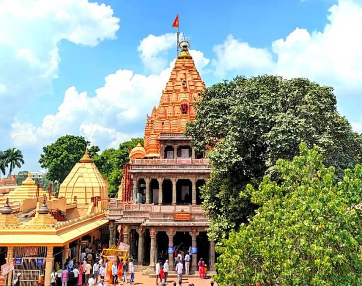 त्रिवेणी से चारधाम रोड 24 मीटर चौड़ा होगा, कालभैरव मंदिर पर पार्किंग अब समस्या नहीं रहेगी उज्जैन,Ujjain - Dainik Bhaskar