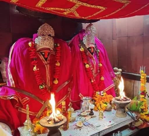 800 साल पहले डकैतों ने की थी 'भंवाल माता' मंदिर की स्थापना, विराजित हैं दो प्रतिमाएं|नागौर,Nagaur - Dainik Bhaskar