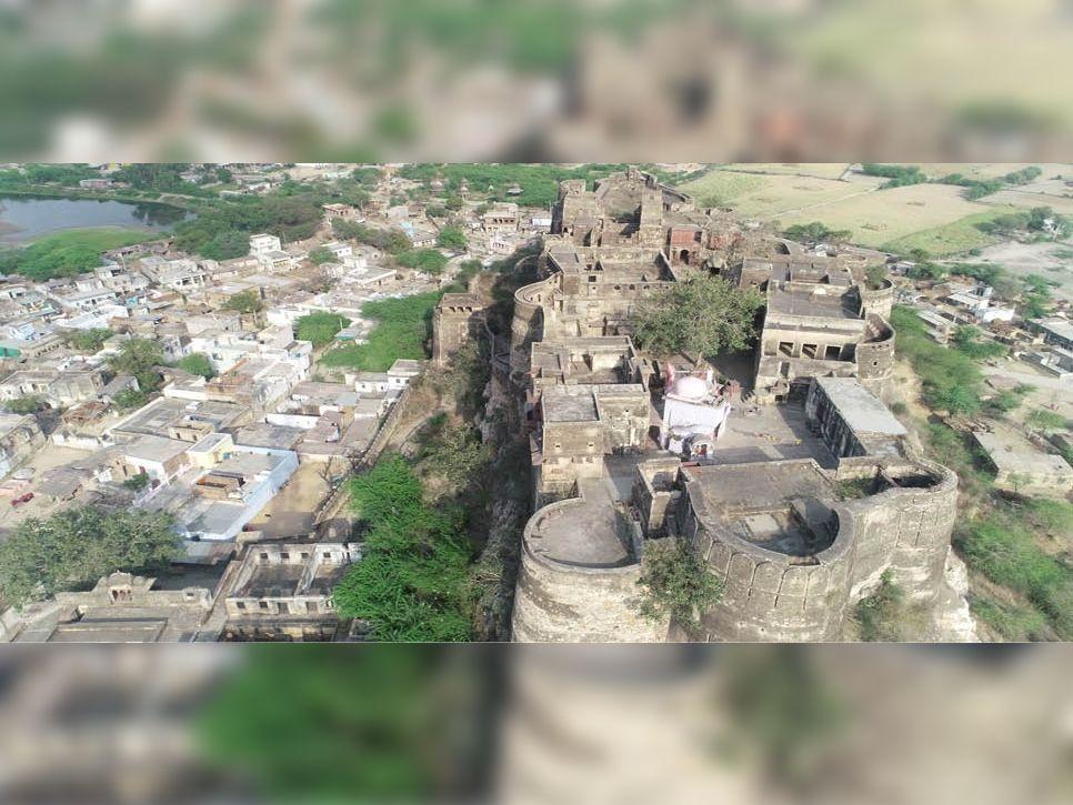 ड्रोन तस्वीर पहली बार सिर्फ भास्कर में - Dainik Bhaskar