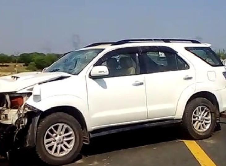फॉर्च्यूनर में जा रहा परिवार को हुआ था हादसे का शिकार, उपभोक्ता आयोग ने मामले को गंभीर मानते हुए फाइन लगाया|जयपुर,Jaipur - Dainik Bhaskar