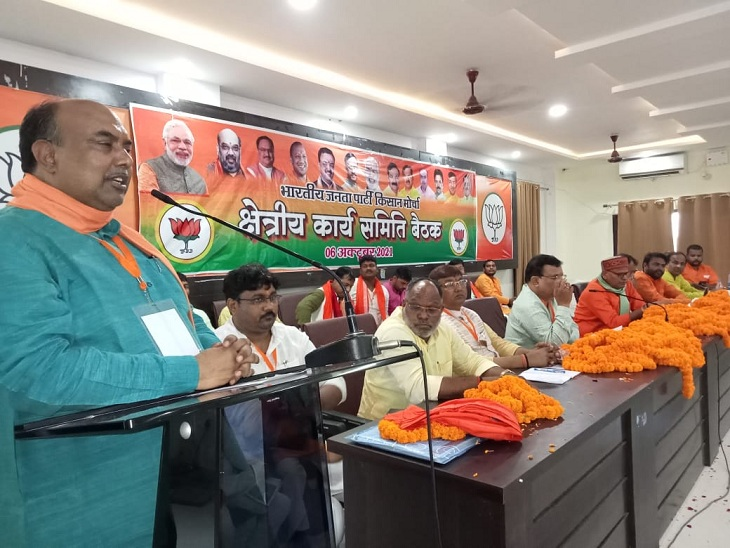 कहा- प्रियंका को राजनीतिक रोटी सेंकने का मौका मिल गया, लखीमपुर कांड का सच जांच में सामने आ जाएगा|वाराणसी,Varanasi - Dainik Bhaskar