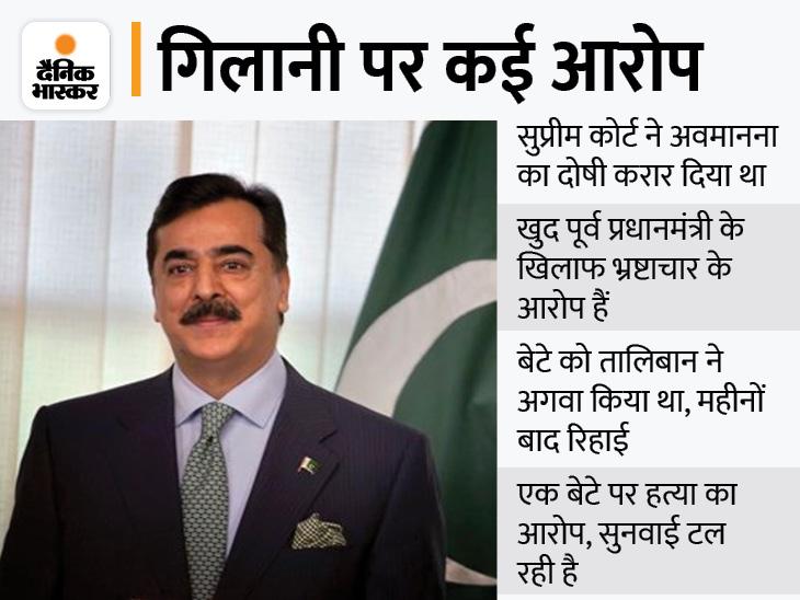 पूर्व PM यूसुफ रजा गिलानी को फ्लाइट में बैठने से रोका; एग्जिट कंट्रोल लिस्ट में है गिलानी का नाम विदेश,International - Dainik Bhaskar