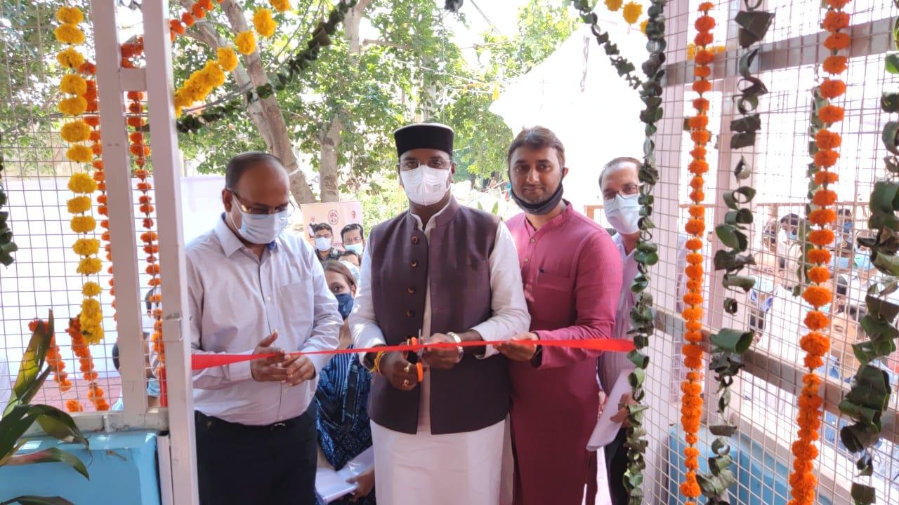 चिकित्सा शिक्षा मंत्री ने कमला नेहरू चिकित्सालय में 500 एलपीएम के ऑक्सीजन प्लांट का लोकार्पण; 50 मरीजों की ऑक्सीजन की जरूरत होगी पूरी भोपाल,Bhopal - Dainik Bhaskar