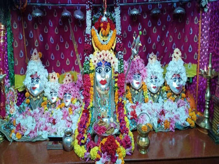 बिजासन माता मंदिर 3 चरणों में दर्शन व्यवस्था रहेगी।