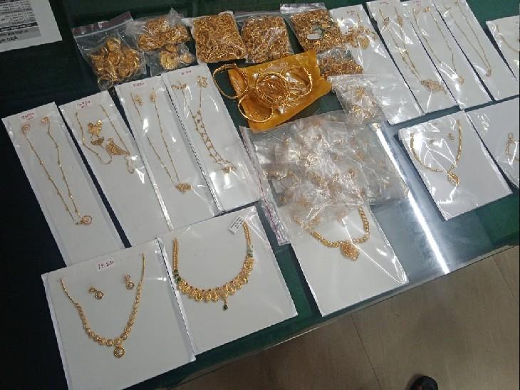 रेलवे स्टेशन से GRP ने दो युवकों को पकड़ा, मिला 1800 ग्राम सोना, ललितपुर में खपाने जा रहे थे माल|ग्वालियर,Gwalior - Dainik Bhaskar